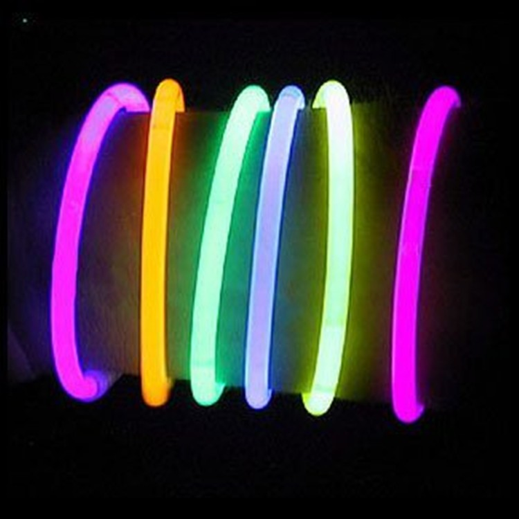 DIY Super Cool and Glow in the Dark Glow Stick Play Dough with mix colors