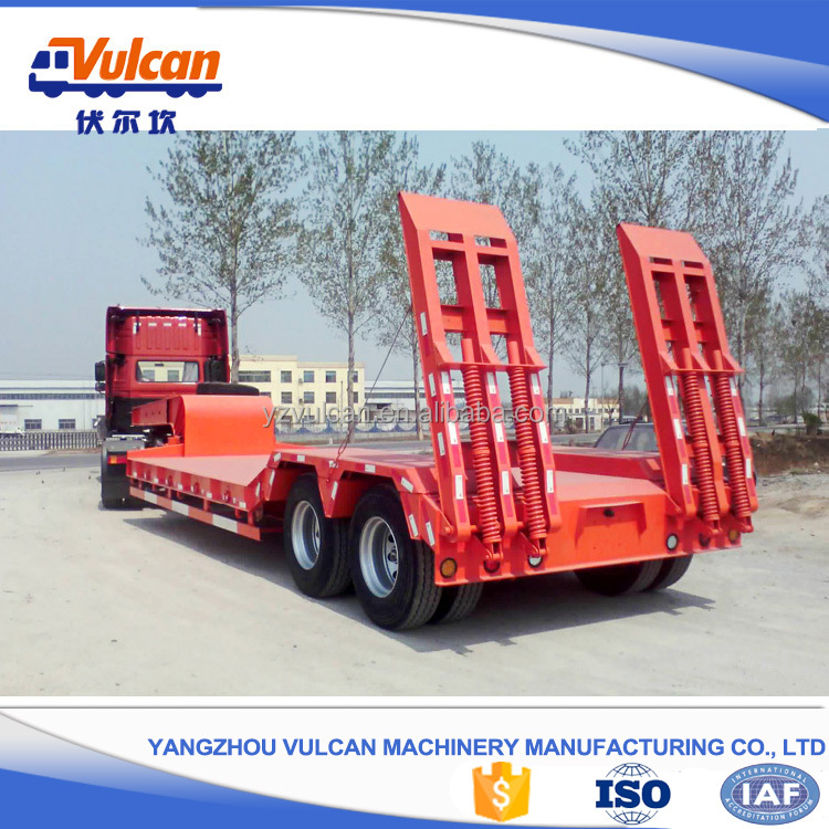 High Tech New Low Bed Semi Trailer Head Truck for Low Price(Customized)