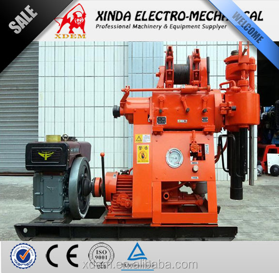 XDEM XY-200B Portable Water Well Drilling Rig 200m Hydraulic Drilling Machine Core Drilling Equipment