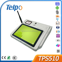 Telepower TPS510 Android All Ine One POS Bluetooth Barcode Scanner POS Equipment for Restaurant