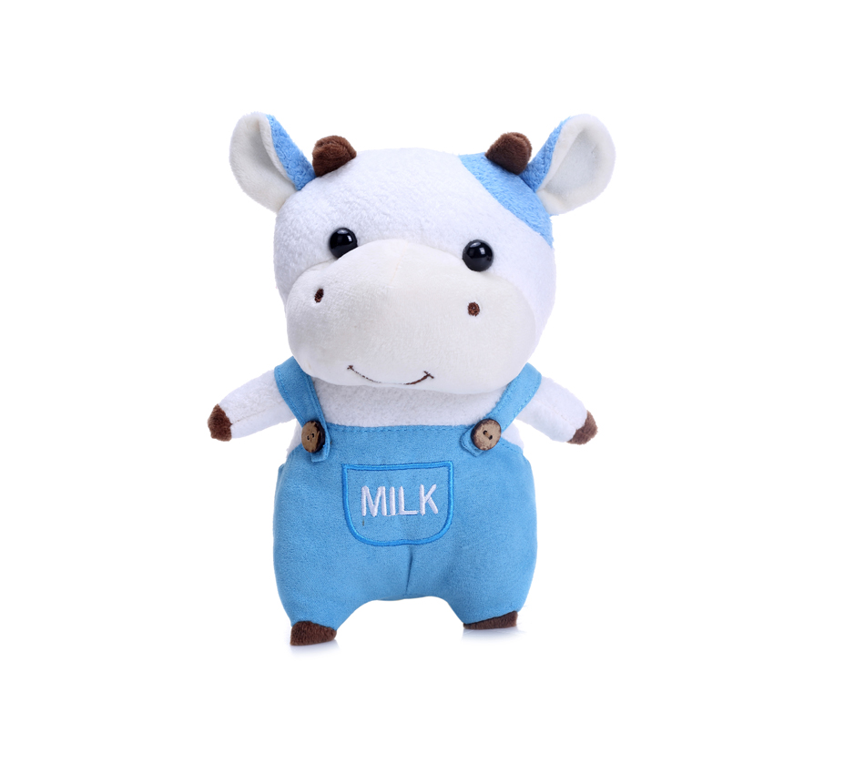 Hot selling funny creative cute soft plush cow toy