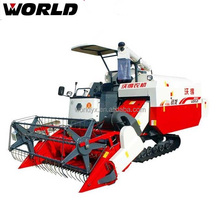 latest agricultural machine 88 HP soybean wheat rice combine harvester