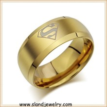 Wholesale Masonic Item Custom stainless steel masonic ring with gold platingn,in stock ,can ship asap