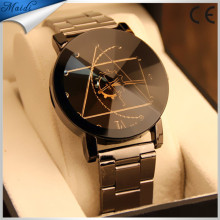 Relojes Hombre 2016 Men's Quartz Relogio Masculinos Dial Glass Time Men Clock Leather Business Wristwatch MW-30