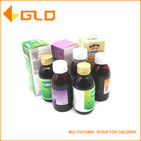 OEM manufacture health food supplement multivitamin syrup