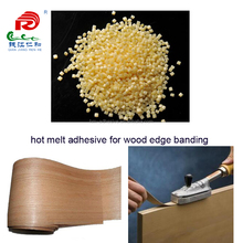 yellow hot melt adhesive granules for wood working edge banding
