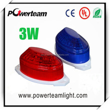 3w Led explosion flashing Light For advertising board