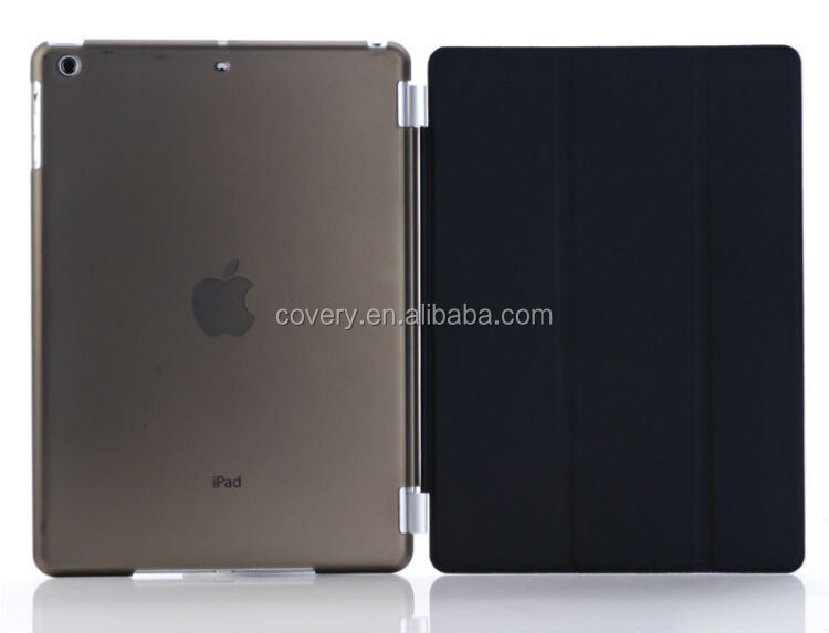 Smart cover+clear back case for ipad air 2