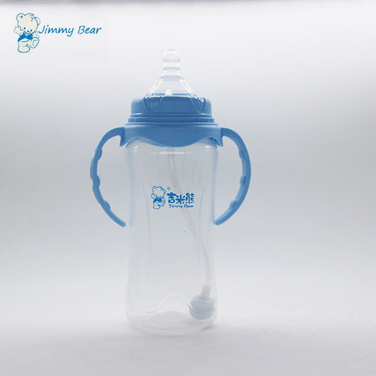 11oz BPA free wide neck PP baby feeding bottle