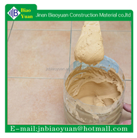 Colored Card of ceramics tile grout for seam filling & joint