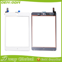 100%Tested For iPad mini 4 Touch Screen Glass Front Glass Panel Replacement Assembly Black And White