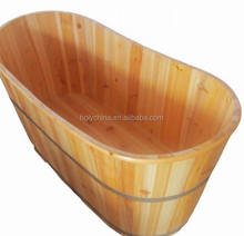 hot sale high quality wooden barrel bath tub