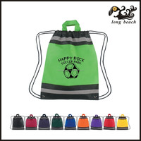 Custom logo print factory low price pp non woven shoulder tool bag, pp non wove focus on production of 10 years