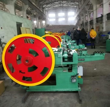 Automatic Wood Pallet Coil Nail Making Machine for Steel Nails