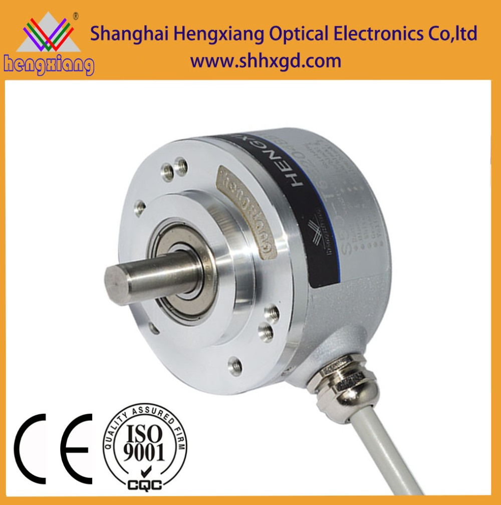 20mm hole absolute encoder outside diameter 76mm IP50