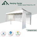 alum easy up pavilion gazebo/foldable trade show tent/gazebo tent 6x3