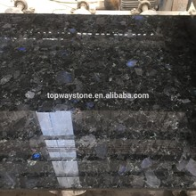 Volga Blue granite slabs from Ukraine for decoration granite stone
