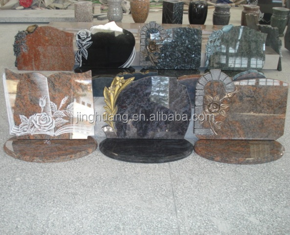 Memorial Stones For Graves Headstones,Professional Granite Flat Grave Marker