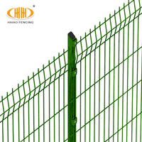 Custom Size collapsible welded wire mesh cheap prefab fence panels fencing trellis gates