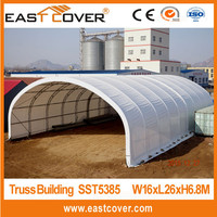 T5385 Round Style PVC Cover Steel Frame large temporary indurstry storage tent