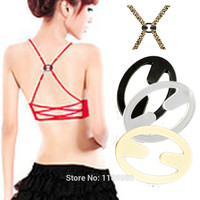 Bra Buckle Clips Back Strap Holder Perfect Adjust Belt Clip Cleavage Control Front