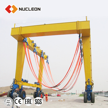 China NUCLEON Brand 300T 500T Ship Travel Lift in Iran