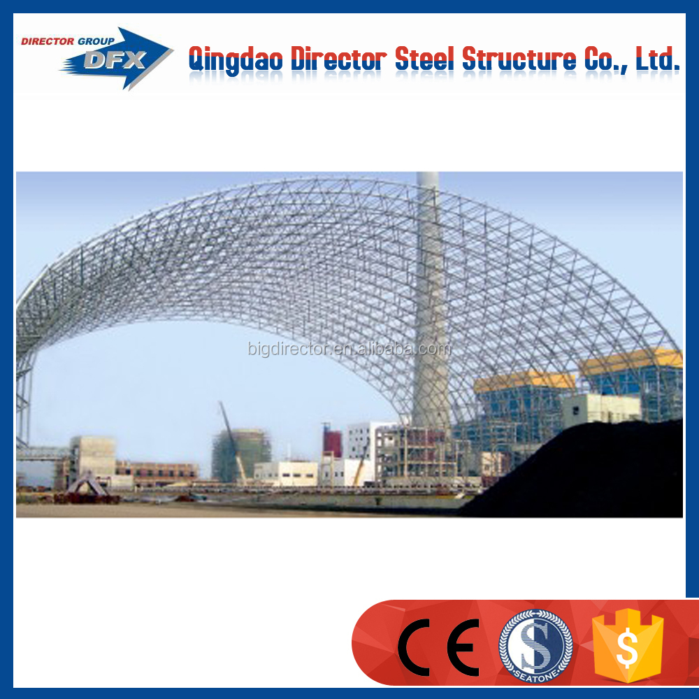industrial steel construction beverage building/ light steel structure storage Project