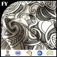 Factory direct digital printed cotton voile fabric