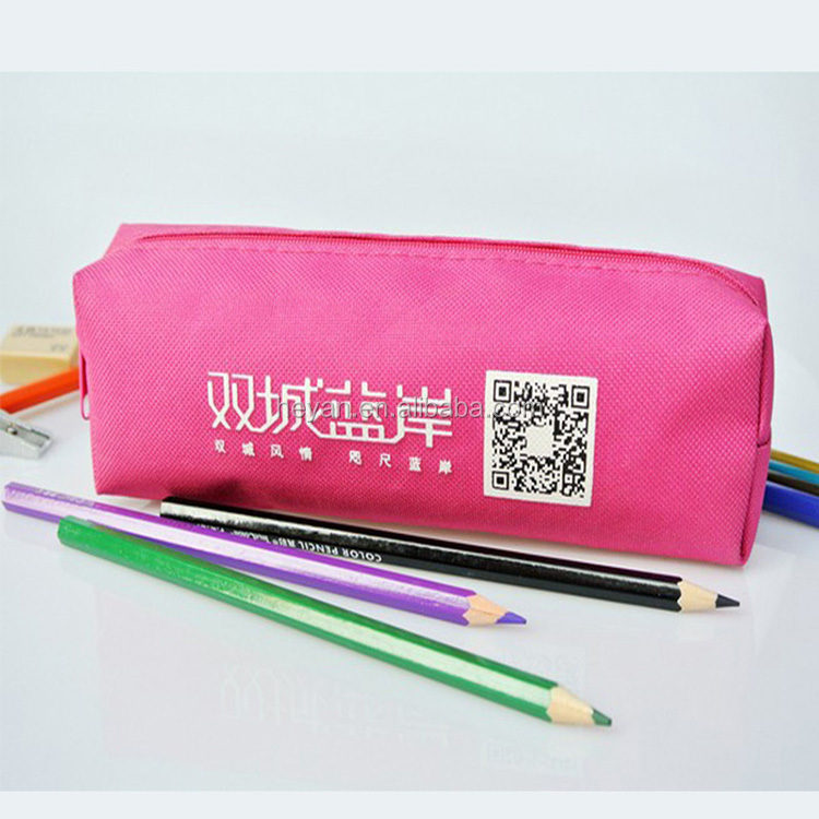 Promotional waterproof nylon smiggle pencil case bags