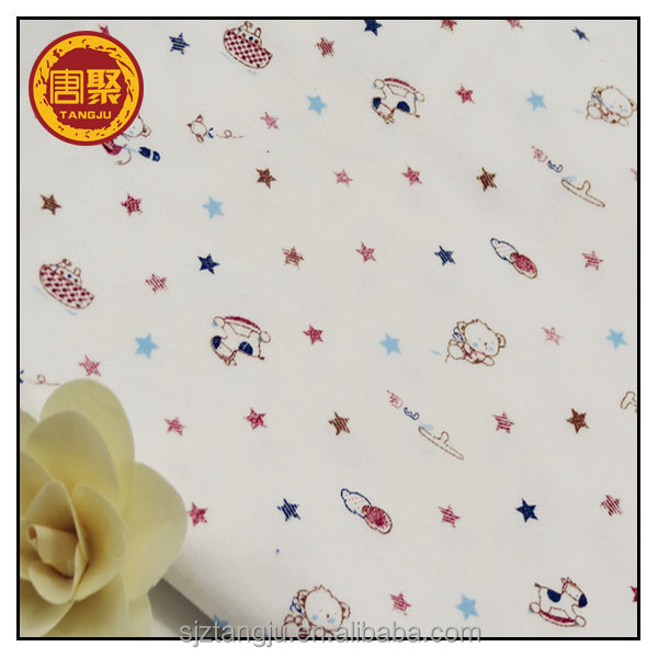 Tangju Textile 100 cotton jersey fabric