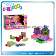 Interesting machine toy plastic electronic cash register toys