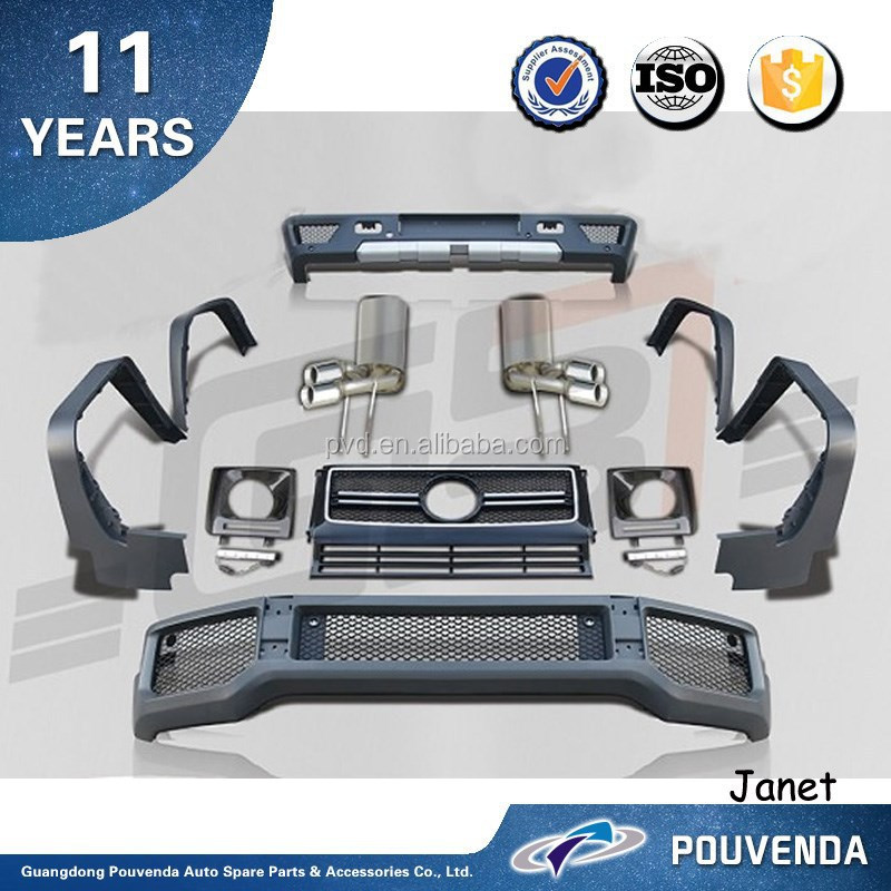 Car Body kit For MercedesBenz G-class W463 G65 2013 body kits Car Accessories From Pouvenda