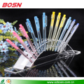 6 PCS clear acrylic pen stand display pencil holder for sale