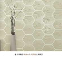 Detai decorative plastic wall covering sheets, 3d wallpaper modern designs