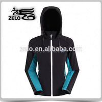 Made in china Womens hooded softshell jackets with hood