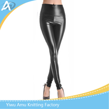 2017 latest fashionable leather pants leggings for women sexy