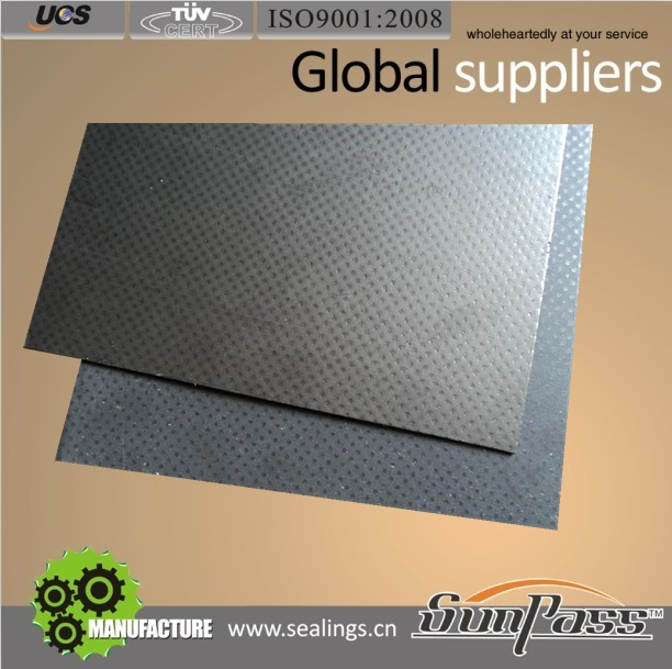 Soft Cut Graphite Gaskets Stainless Steel Plate/Sheet