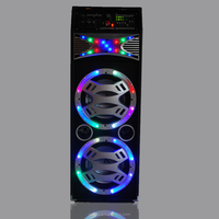 Cheap Hottest active Audio!!outdoor stage sound system speaker with laser light and bluetooth