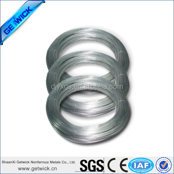 Good Price Nickel Titanium Shape Memory Alloy Wire from China