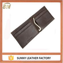 High Quality Wholesale Designer Brand Mens Wallet with money clip