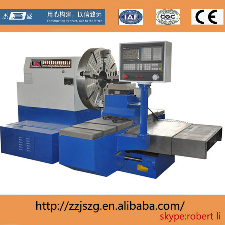 CK61425 horizontal CNC metal spinning lathe machine
