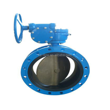 China wafer type Soft seal Manual butterfly valve handles