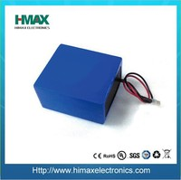 maintenance free 12v 10ah lithium ion marine lithium battery pack