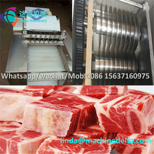 Fresh Meat Cube Dicer Machine / Chicken Cutting Machine / Chicken Meat Dicing Machine