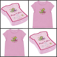 China Factory 100% cotton good gift items promotional&gift magic compression blank t-shirt