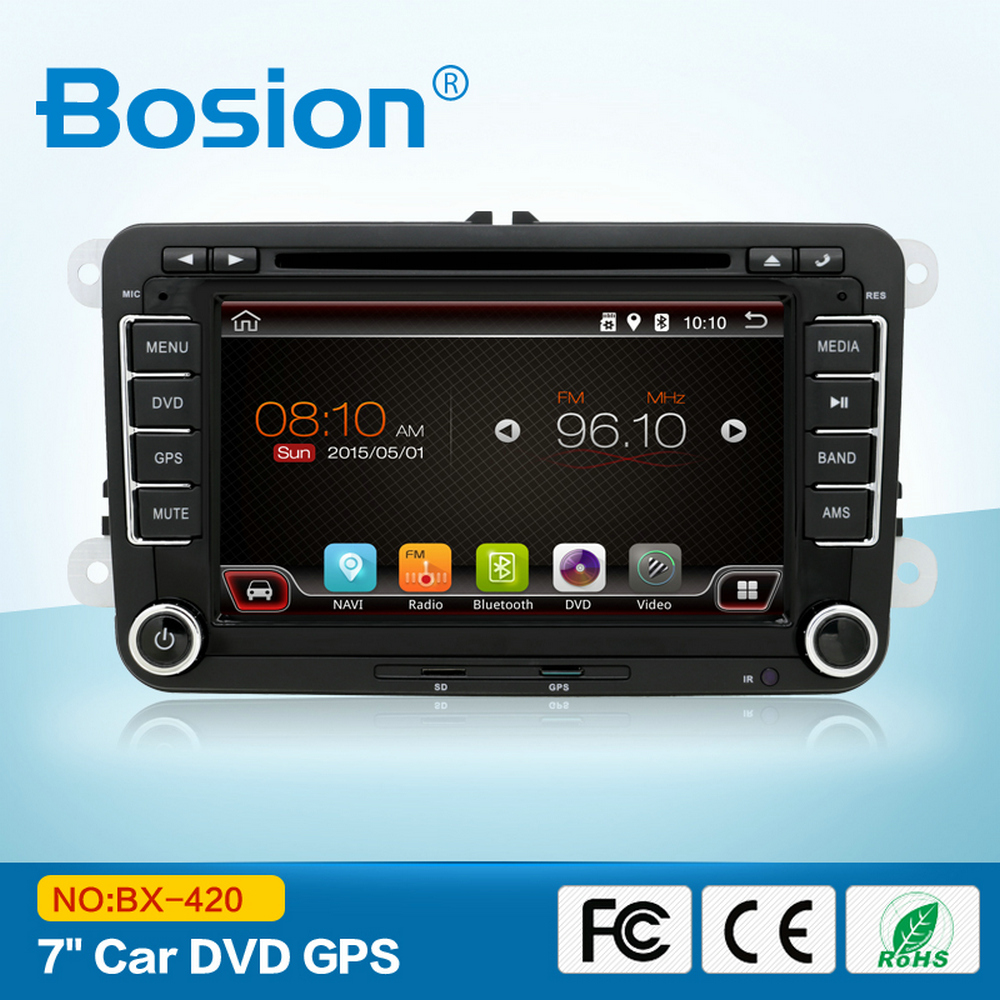Support Mirror Link Android Quad Core Touch Screen Car DVD Player for VW Jetta Golf MK5 Radio with 3G Wifi Bluetooth