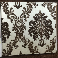 wallpaper and matching silk white wallpaper dark brown flocking wallpaper