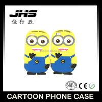 cute cartoon character phone case for iphone 6, cell phone case animal for iphone 6 little yellow man