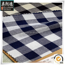 big check cotton yarn dyed fabric for shirts