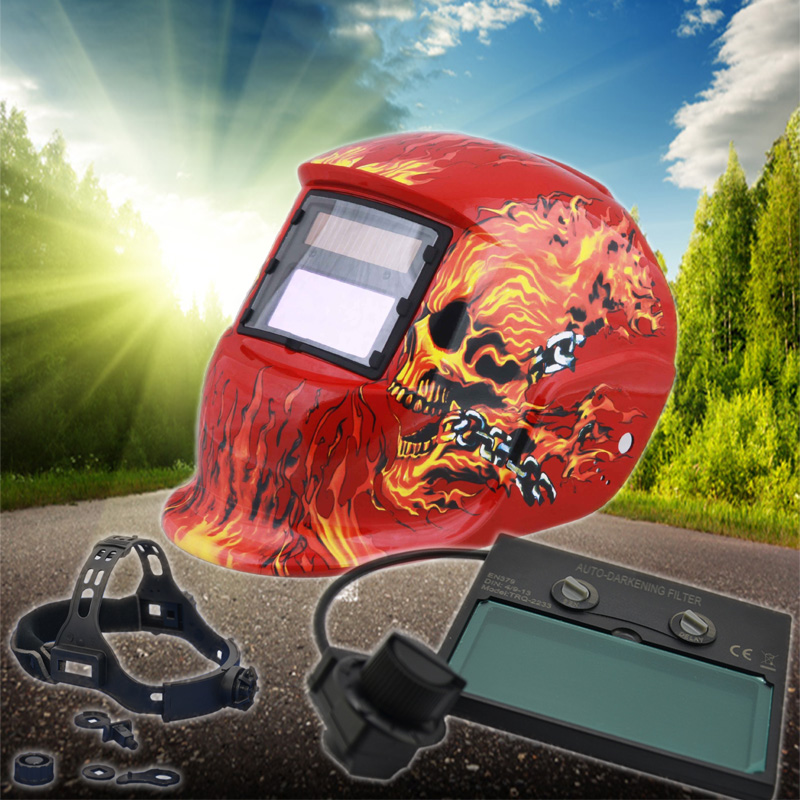 Quickly Switching Time Grinding Function Art Welding Helmet